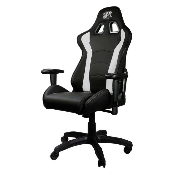 Кресло компьютерное игровое Cooler Master Caliber R1 Black/White (CMI-GCR1-2019BW) фото
