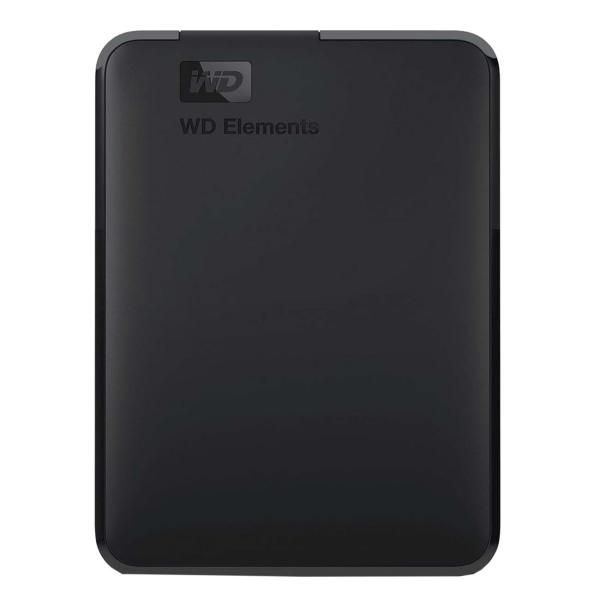 """Внешний жесткий диск 2.5"""" WD — 4TB Elements Portable (WDBW8U0040BBK-EEUE)"""