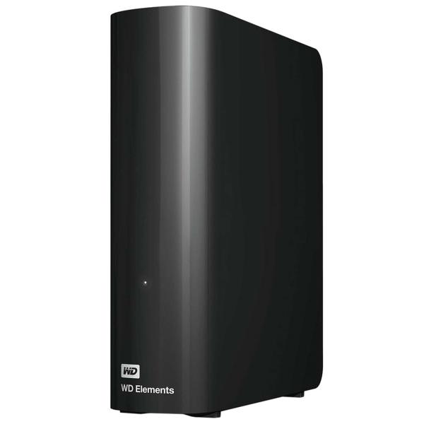"""Внешний жесткий диск 3.5"""" WD — 8TB Elements Desktop (WDBWLG0080HBK-EESN)"""