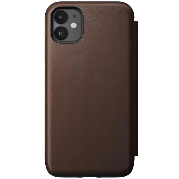 Чехол Nomad — Rugged L.Folio д/iPhone 11, D.Brown (NM21XR0000)