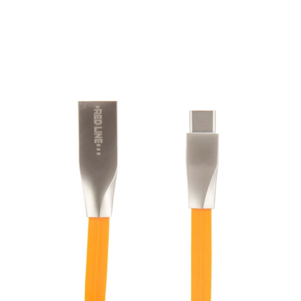 Кабель для смартфона Red Line — Smart High Speed USB-A/C, Orange (УТ000011564)