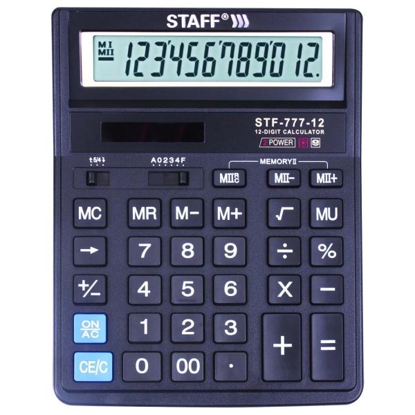 Калькулятор Staff STF-777 (250458)