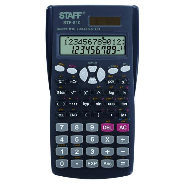 Калькулятор Staff STF-810 инженерный (250280) фото