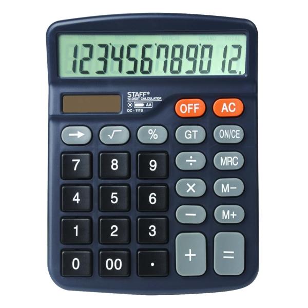 Калькулятор Staff Plus DC-111S компактный (250428)