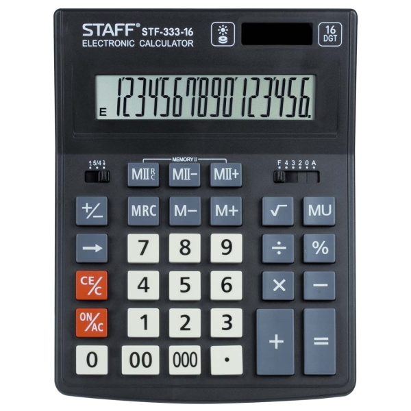Калькулятор Staff Plus STF-333-16 (250417)