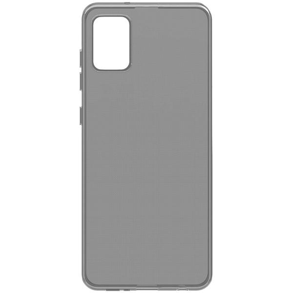 Чехол Vipe Color для Galaxy A41, Transparent/Gray фото