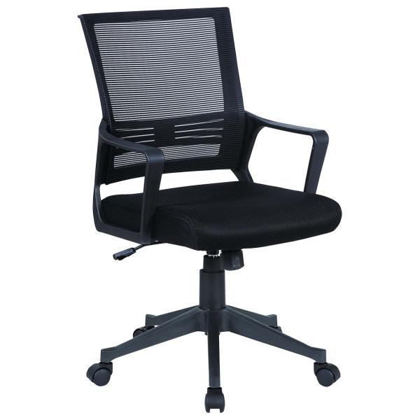Кресло компьютерное Brabix Balance MG-320 Black (531831) фото