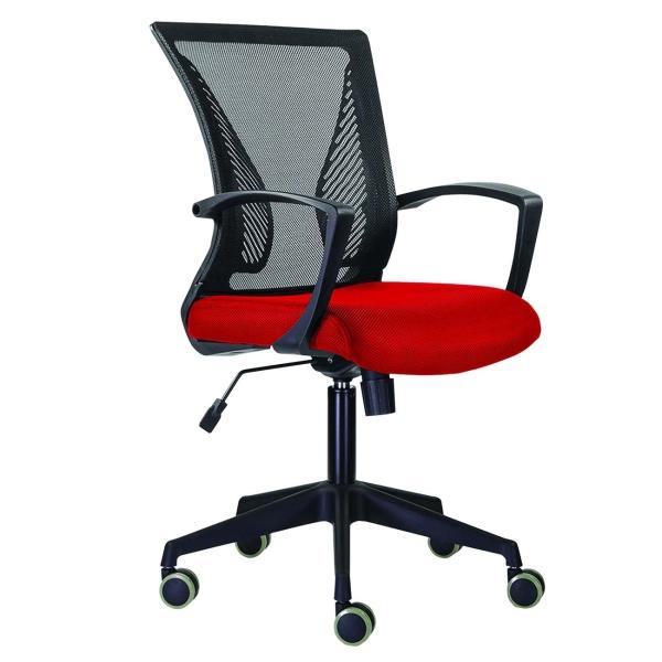 Кресло компьютерное Brabix Wings MG-309 E-02 Black/Red (532014) фото