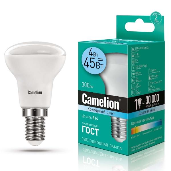 Лампа LED Camelion LED4-R39/845/E14 4500