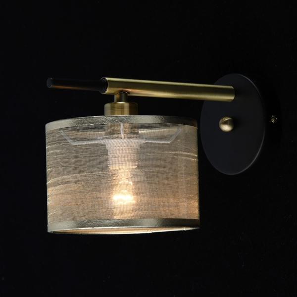 Светильник настенный De Markt 667021401 Конрад 1*40W E14 бра