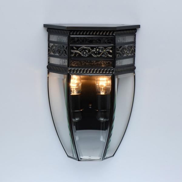 Светильник настенный Chiaro 801020702 Корсо 2*40W E14 IP44