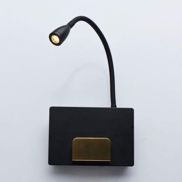 Светильник настенный De Markt 492026101 Котбус 1*3W LED