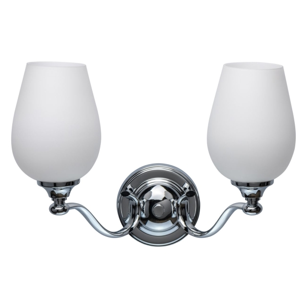 Светильник настенный Chiaro 386026302 Палермо 2*60W E27 бра