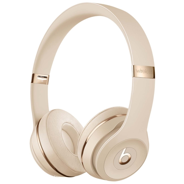 Наушники Bluetooth Beats — Solo3 Wireless Satin Gold (MX462EE/A)