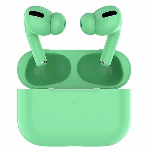 Наушники Bluetooth Barn&Hollis — TWS B&H-13 Green (УТ000021357)