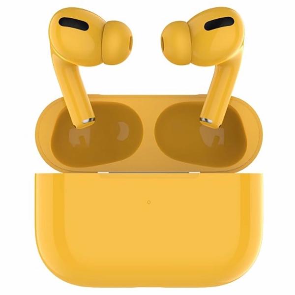 Наушники Bluetooth Barn&Hollis — TWS B&H-13 Yellow (УТ000021359)