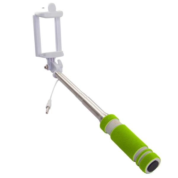 Монопод для смартфона Rekam SelfiPod S-350G зеленого цвета
