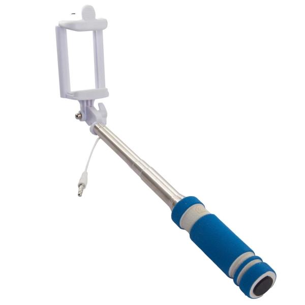 Монопод для смартфона Rekam SelfiPod S-350L синего цвета