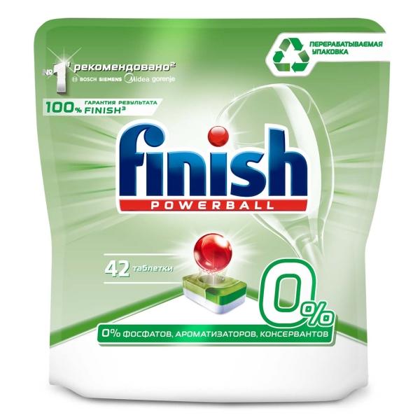 Моющее средство для посудомоечной машины Finish 42 таблетки бесфосфатные