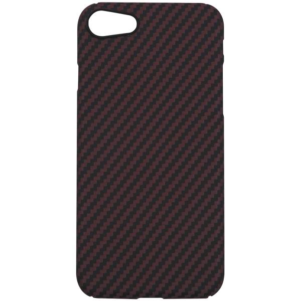 Чехол Barn&Hollis Carbon для iPhone SE(2020) Matte Red фото