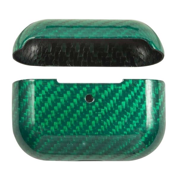 Чехол для AirPods Pro Barn&Hollis карбон глянцевый зеленый фото