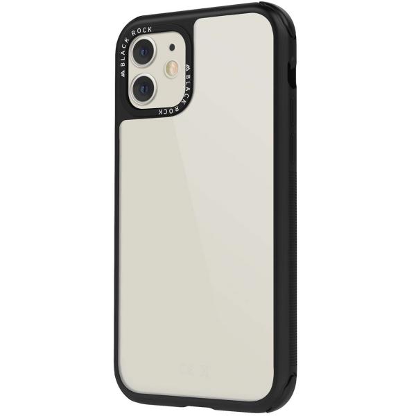 Чехол Black Rock Robust Transparent iPhone 11 черный (1100RRT02) цвет прозрачный/черный