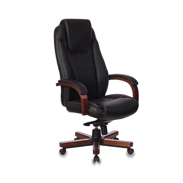 Кресло компьютерное Бюрократ T-9923WALNUT/BLACK