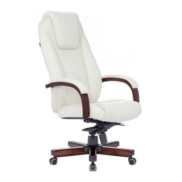Кресло компьютерное Бюрократ T-9923WALNUT/IVORY