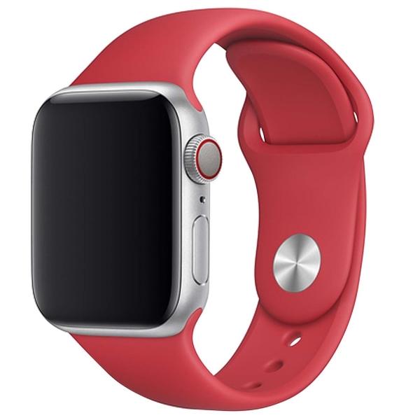 Ремешок TFN для Apple Watch 38/40мм Silicone красный красный
