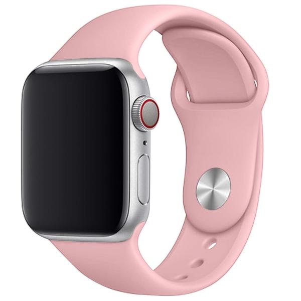 Ремешок TFN для Apple Watch 38/40мм Silicone светлый розовый светлый розовый