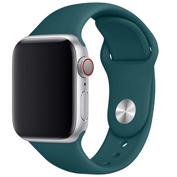 Ремешок TFN для Apple Watch 42/44мм Silicone темно-зеленый темно-зеленый