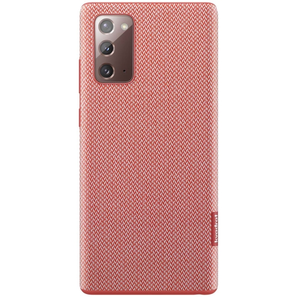 Чехол Samsung Kvadrat Cover Note 20 красный