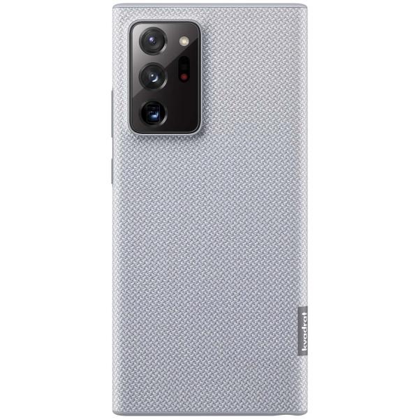 Чехол Samsung Kvadrat Cover Note 20 Ultra серый