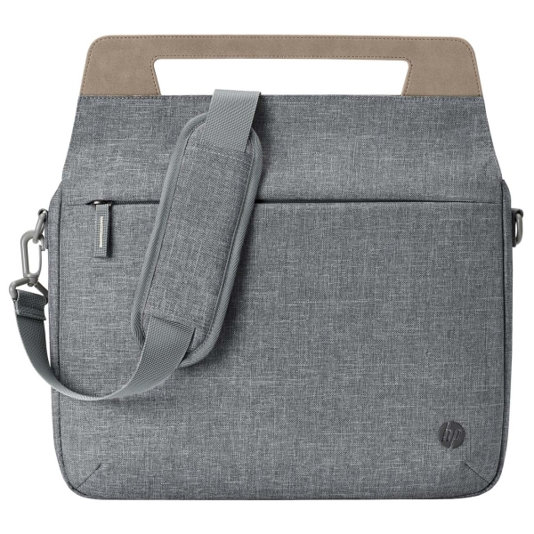 """Купить Кейс для ноутбука до 13"""" HP Pavilion Renew Briefcase Grey (1A214AA) в каталоге интернет магазина М.Видео по выгодной цене с доставкой, отзывы, фотографии - Сочи"""