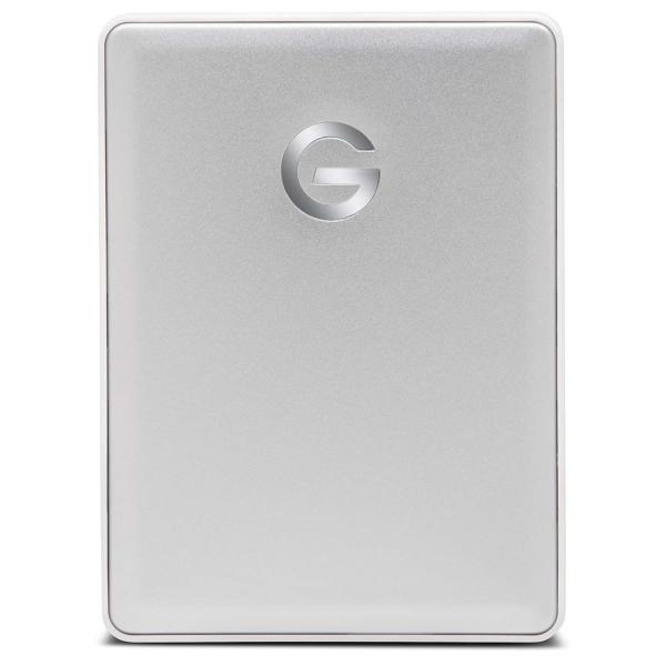 """Внешний жесткий диск 2.5"""" для Mac G-Technology 2TB G-Drive Mobile Silver (0G10339-1 ) серебристого цвета"""