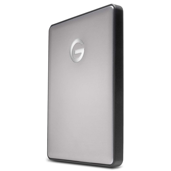 "Внешний жесткий диск 2.5"" для Mac G-Technology 2TB G-Drive Mobile Space Gray (0G10317-1 ) серого цвета"