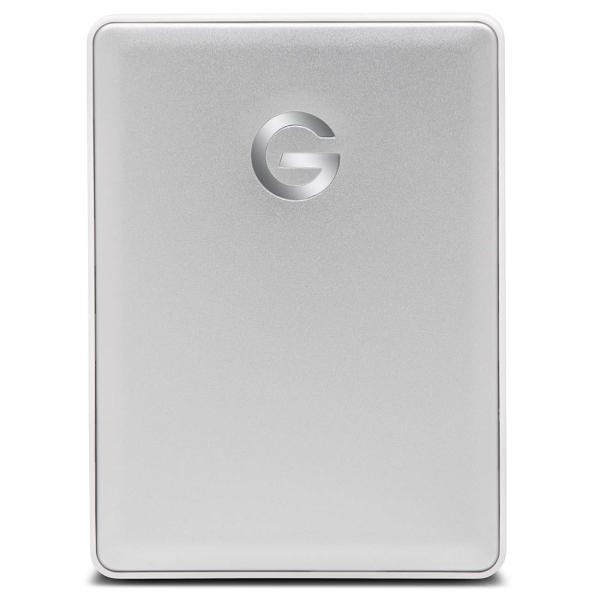 """Внешний жесткий диск 2.5"""" для Mac G-Technology 1TB G-Drive Mobile Silver (0G10264-1 ) серебристого цвета"""