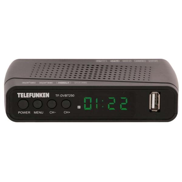 Telefunken TF-DVBT250 черного цвета
