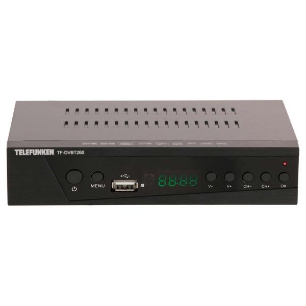 Приемник телевизионный DVB-T2 Telefunken TF-DVBT260