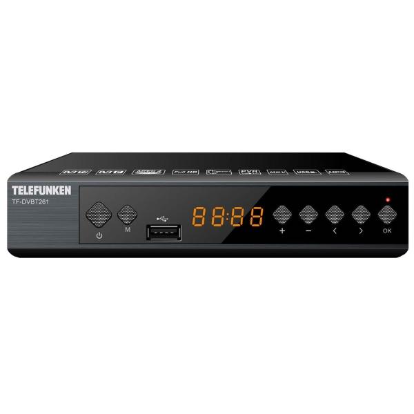 Приемник телевизионный DVB-T2 Telefunken TF-DVBT261