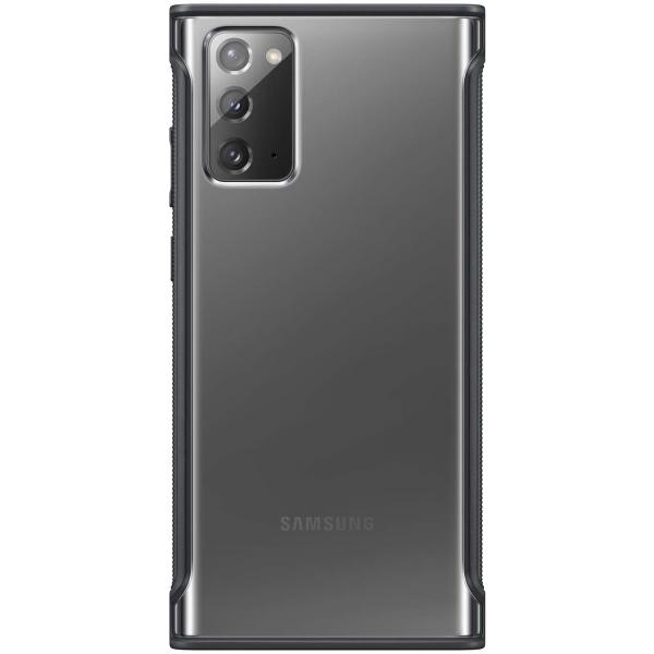 Чехол Samsung Clear Protective Cover Note 20 прозрач.черн.рамка
