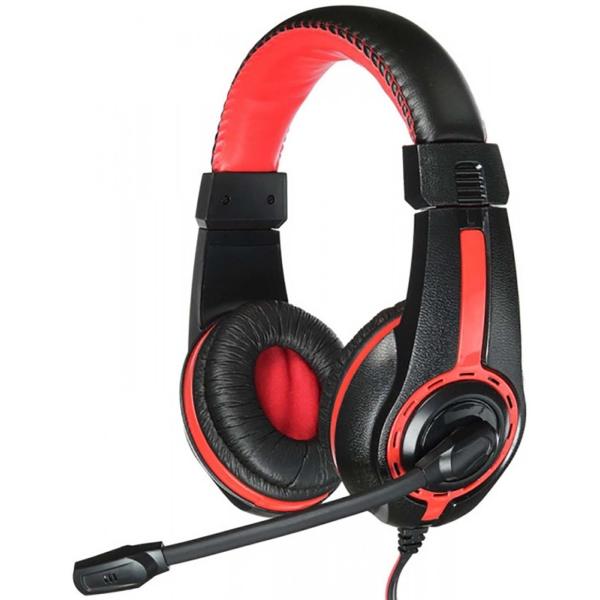 Игровые наушники Oklick HS-L200 Black/Red (Y-819)