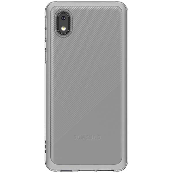 Чехол Samsung Soft Clear Cover для Galaxy A01 Core, Transparent