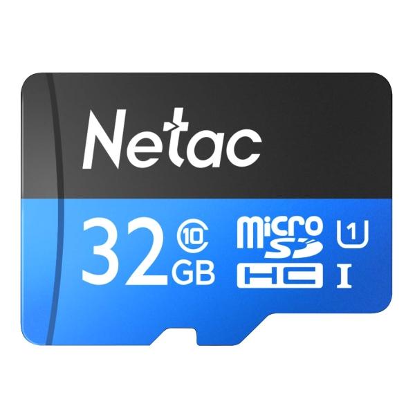 Карта памяти MicroSD Netac