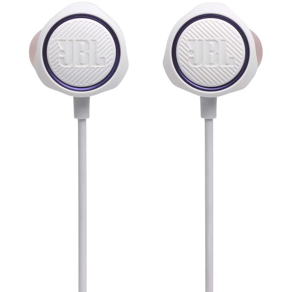 Купить Игровые наушники JBL Quantum 50 White (JBLQUANTUM50WHT) в каталоге интернет магазина М.Видео по выгодной цене с доставкой, отзывы, фотографии - Набережные Челны