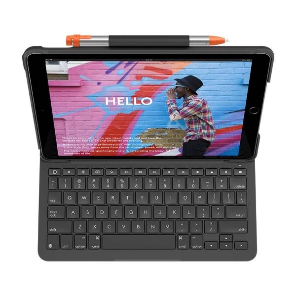 Чехол-клавиатура для iPad (7 поколения) Logitech