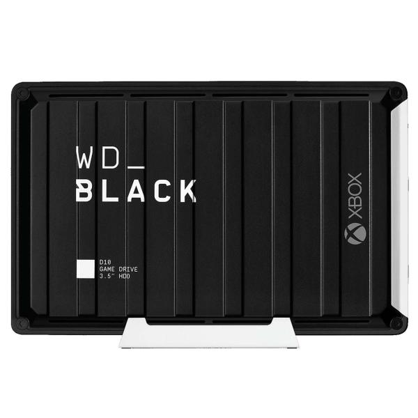 Память для консоли Xbox WD Black 12TB D10 Game Drive (WDBA5E0120HBK-EESN) черного цвета