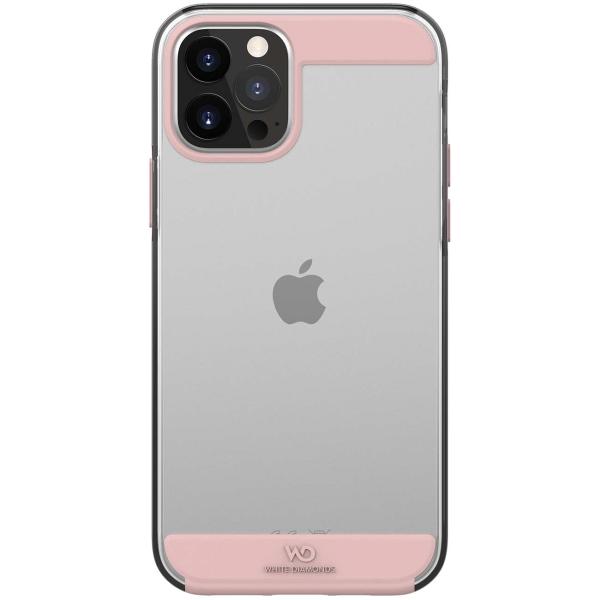 Чехол White Diamonds iPhone 12/12 Pro (800120) цвет прозрачный/розовый