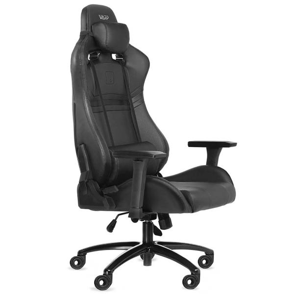 Кресло компьютерное игровое WARP GR-BBK