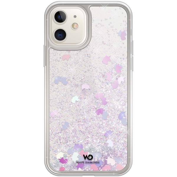 Чехол White Diamonds Sparkle iPhone 11 единороги (1410SPK13) серого цвета